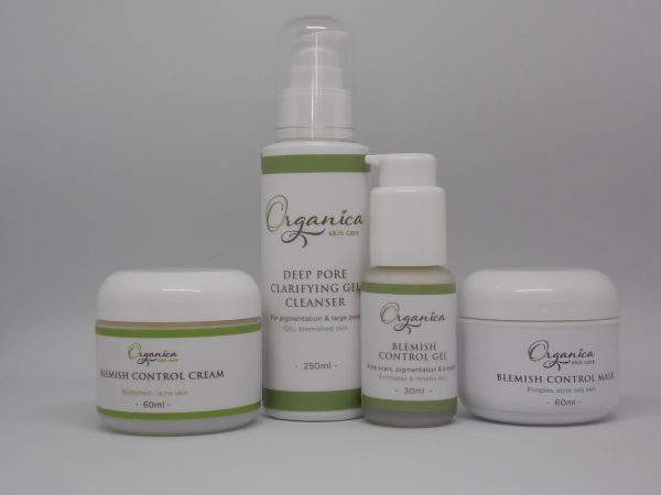 acne blemished skin care pack